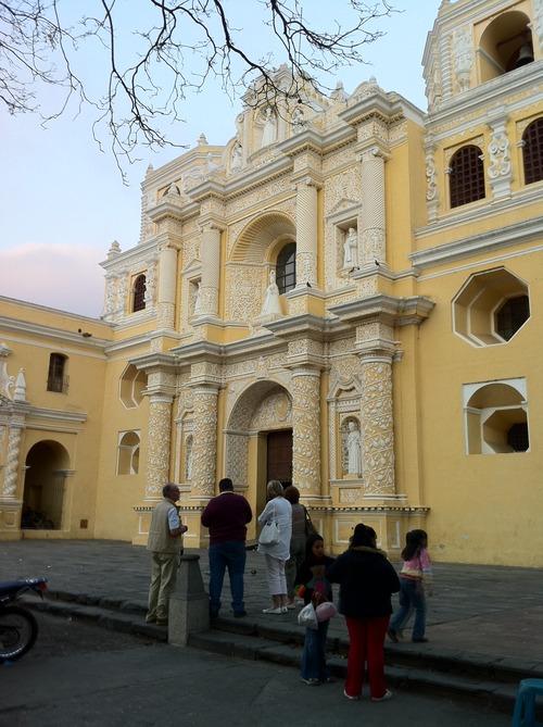 Inglesia La Merced in La Antigua Guatemala