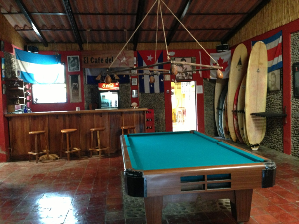 Playa El Tunco hostel #elsalvador #centroamerica #backpacking #travel