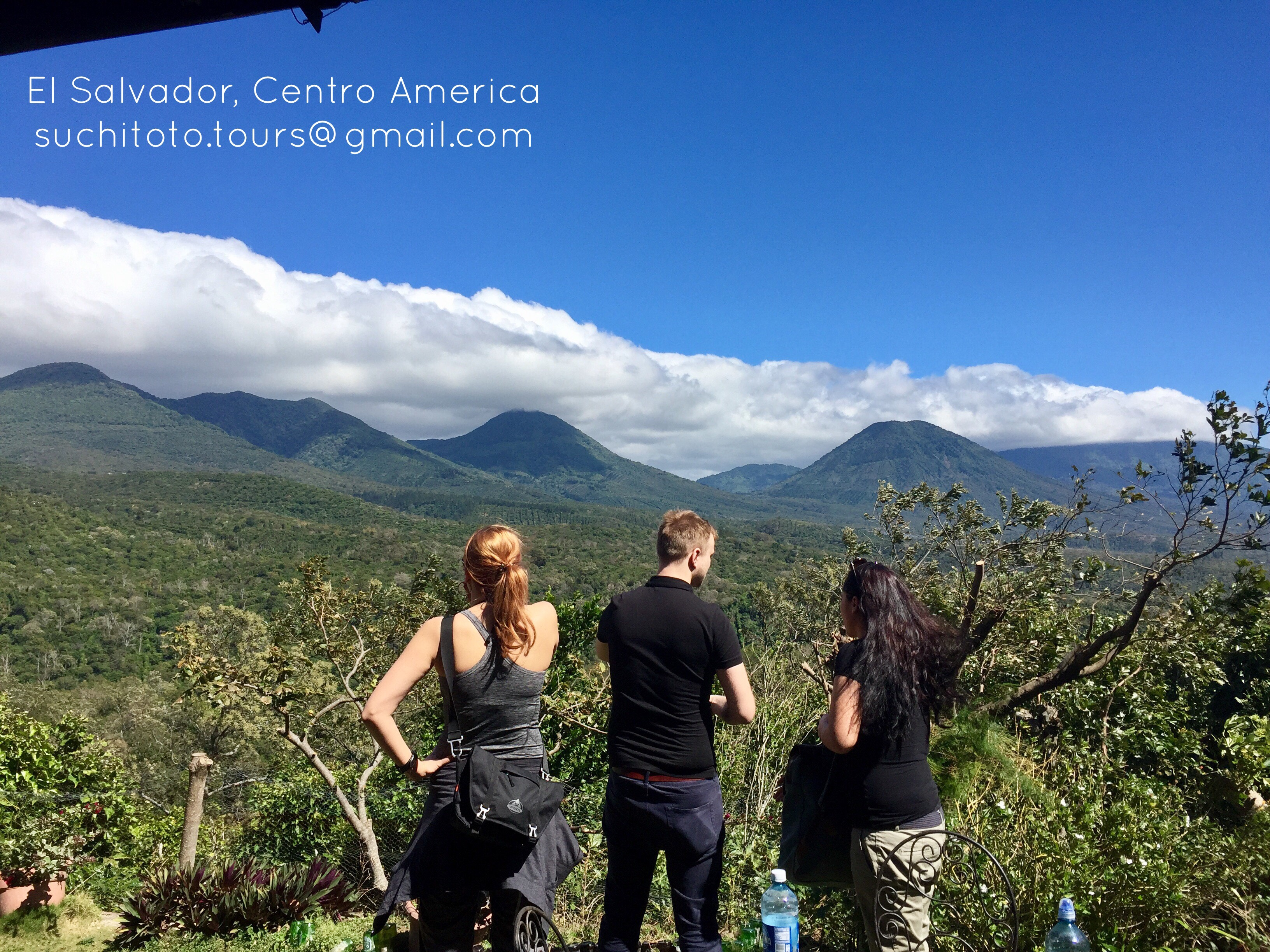 Impressive Mountain Range #ElSalvador #coffee #travelphoto #toursv